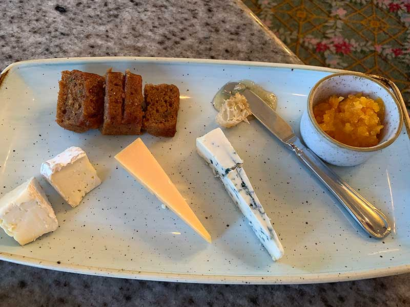 cheese plate Grand Floridian Cafe