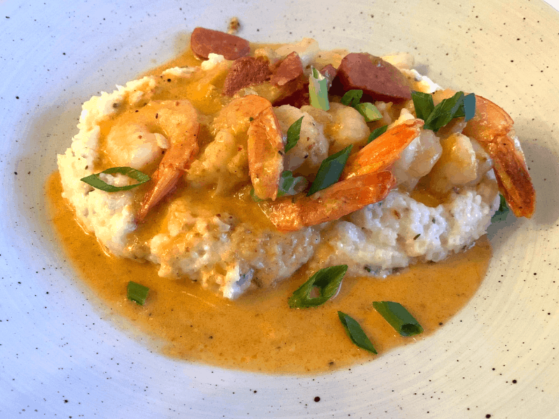 shrimp and grits grand Floridian cafe