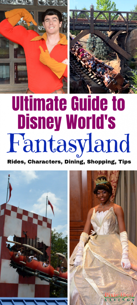 Guide to Fantasyland, Magic Kingdom, Walt Disney World