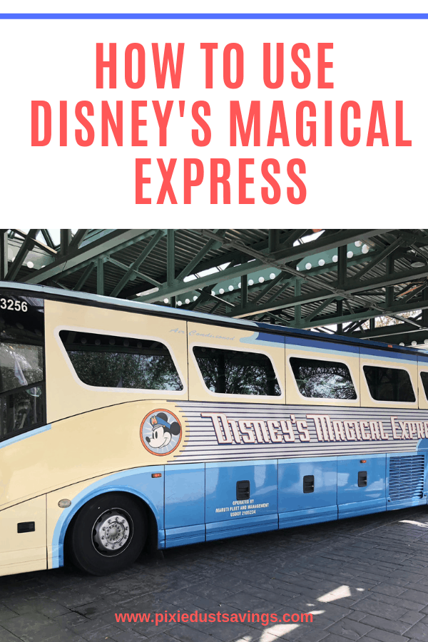 Disneys magical express bus