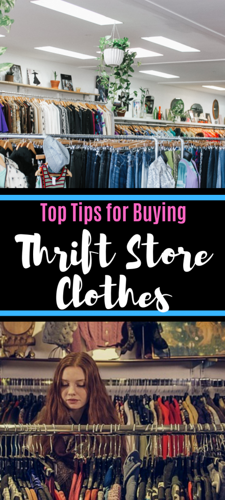 Top Tips for buying thrift store clothes