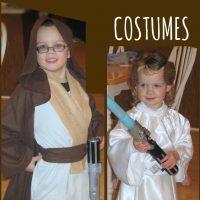 DIY Star Wars Costumes - Jedi and Princess Leia