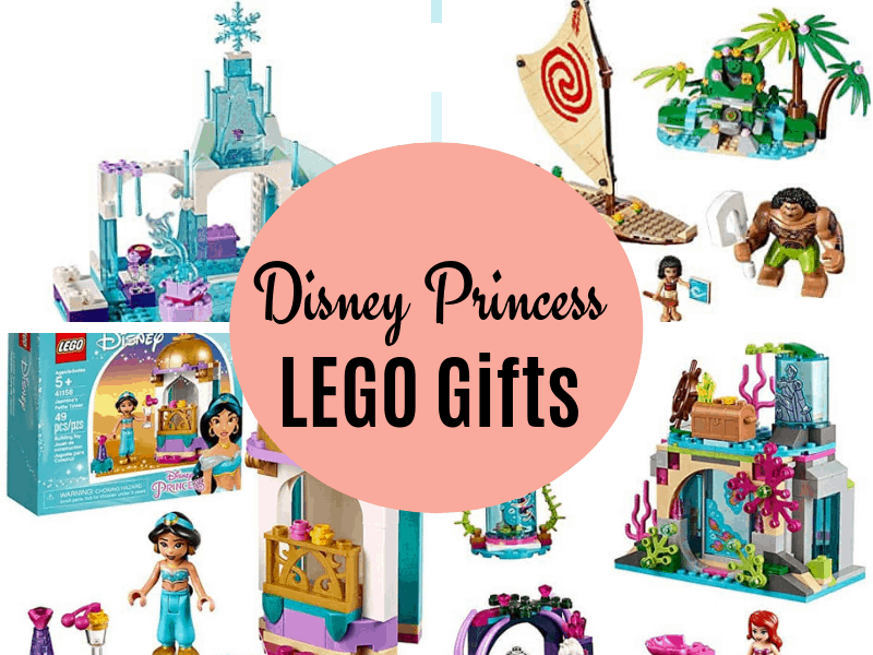 Disney Princess LEGO Gifts collage