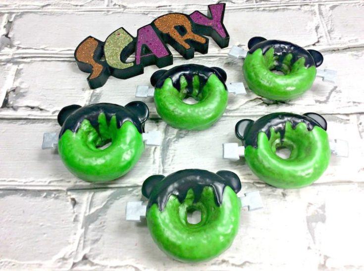 Mickey Frankenstein Doughnuts