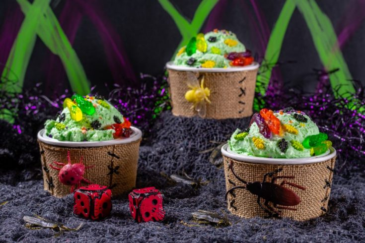 Oogie Boogie Ice Cream Sundaes: A Recipe Inspired by The Nightmare Before Christmas
