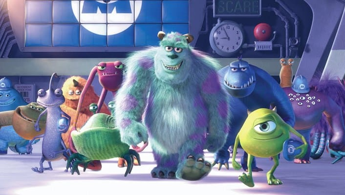 Monster Inc Fun facts