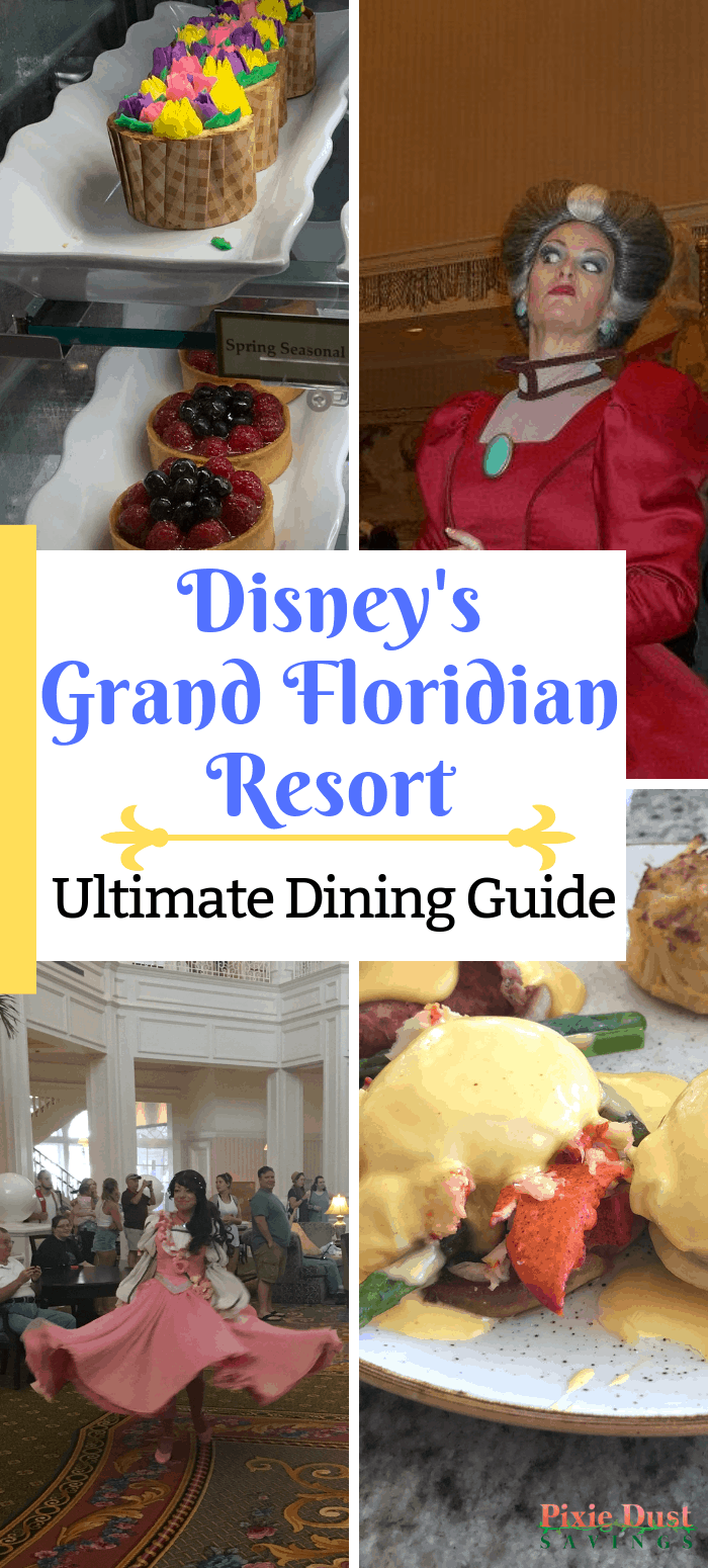 Ultimate Grand Floridian Dining Guide. Walt Disney World