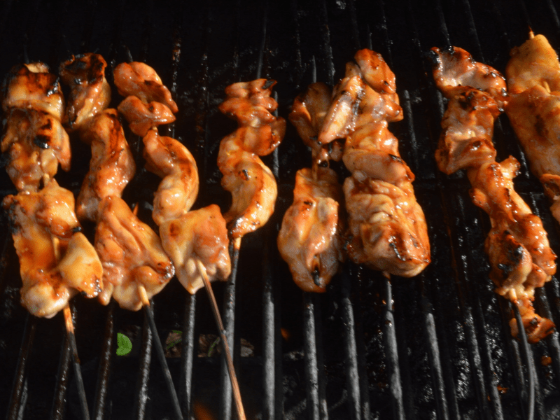 Huli Huli Chicken on Grill