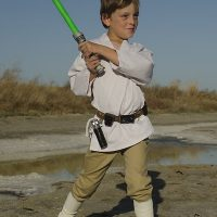 The Force is Strong With This Kids Luke Skywalker Costume DIY
