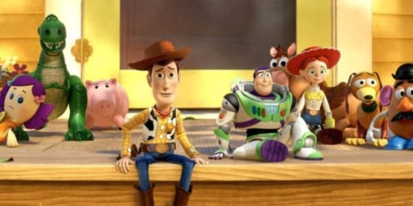 Toy Story Gang at Bonnie's House