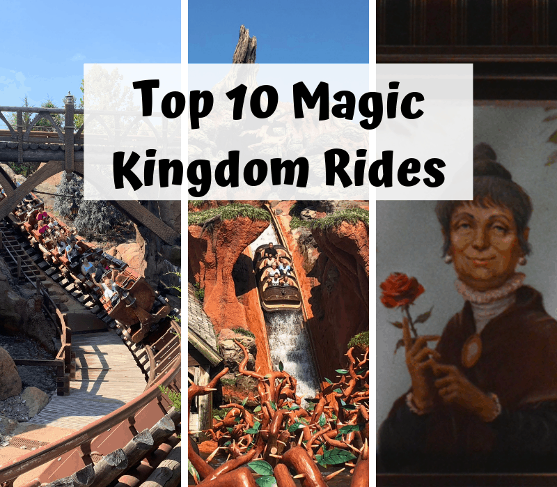 top 10 Magic Kingdom rides