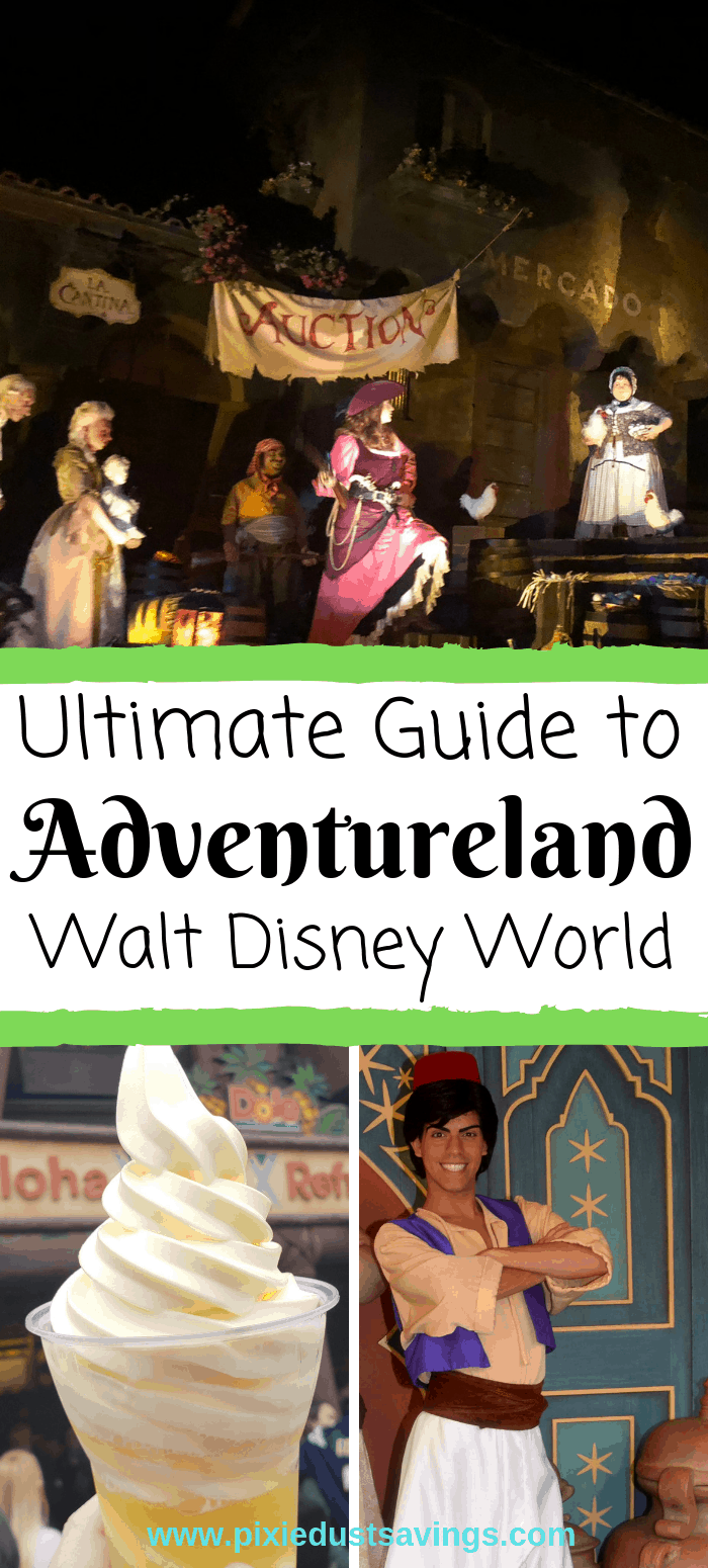 Guide to Disney World's Adventureland