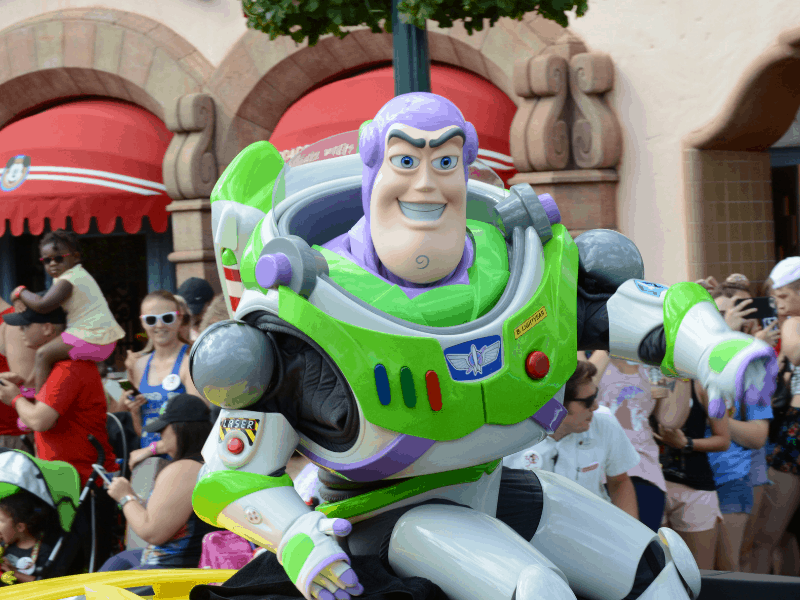 Buzz Lightyear at Hollywood Studios