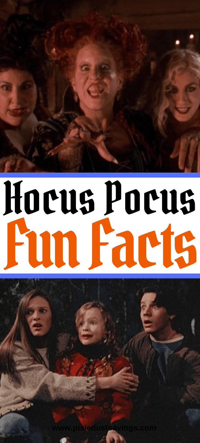 Hocus Pocus Fun Facts