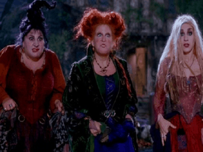 The Sanderon Sisters from Hocus Pocus