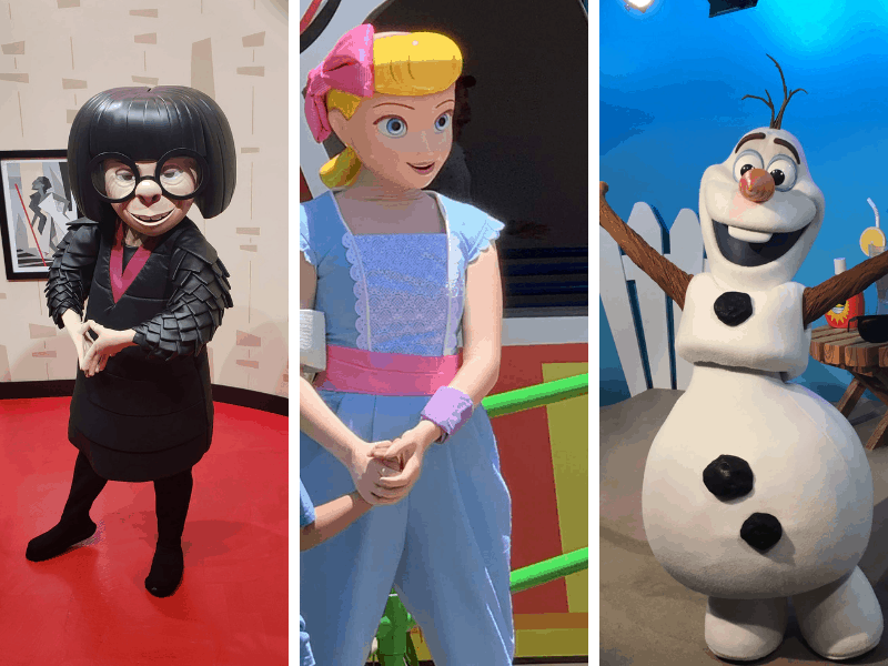 Edna Mode, Bo Peep, Olaf Characters to Meet at Hollywood Studios WDW