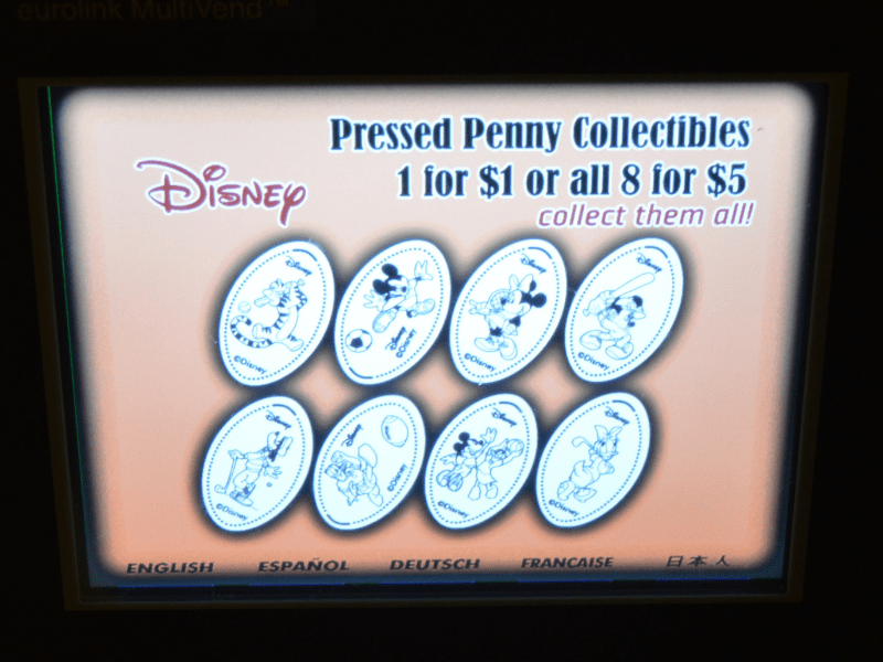 Disney pressed penny price 2019
