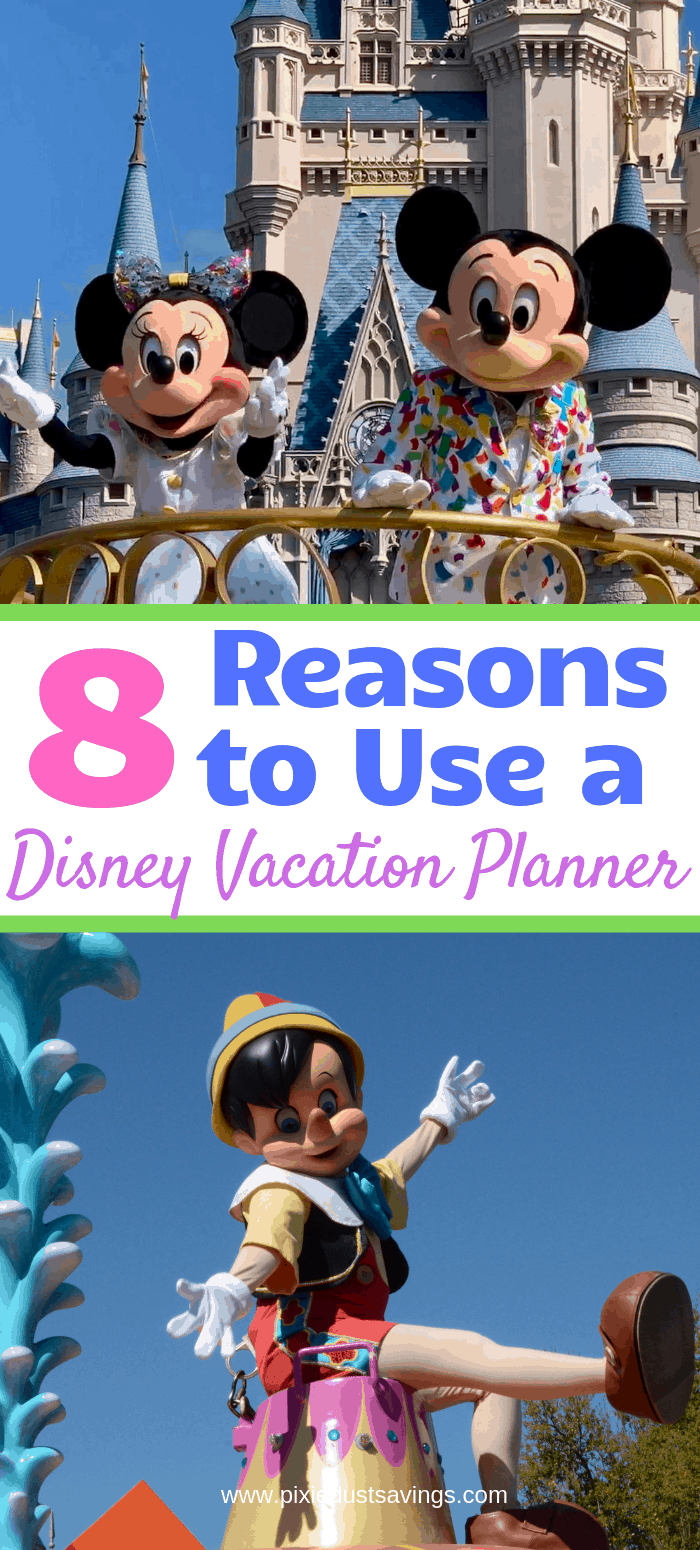 Reasons to Use a Disney Vacation Planner