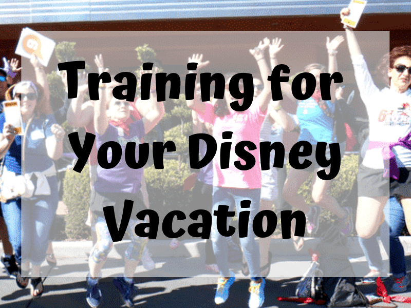 Training for your Disney vacation
