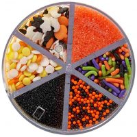 Halloween Shapes 6 Cell Sprinkle Mix
