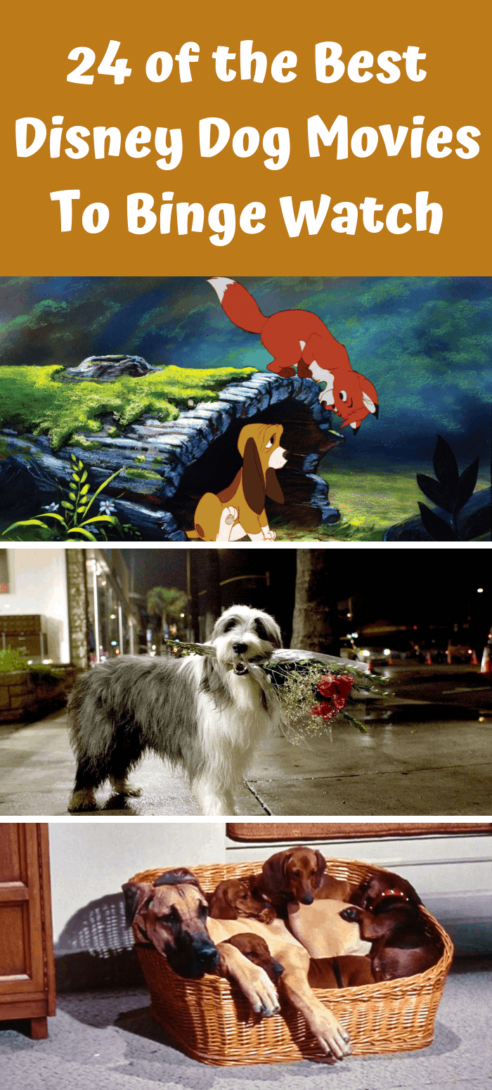 Disney Dog Movies List