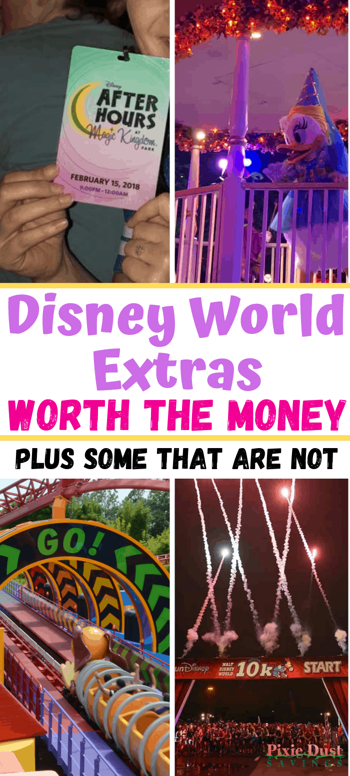 Disney World Extras Worth the Money