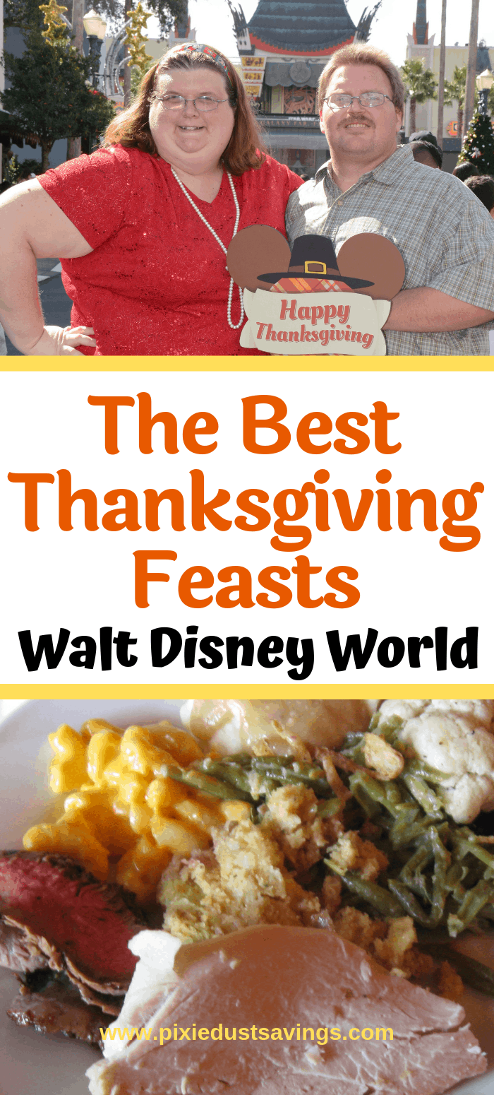 Best Thanksgiving Feasts at Disney World