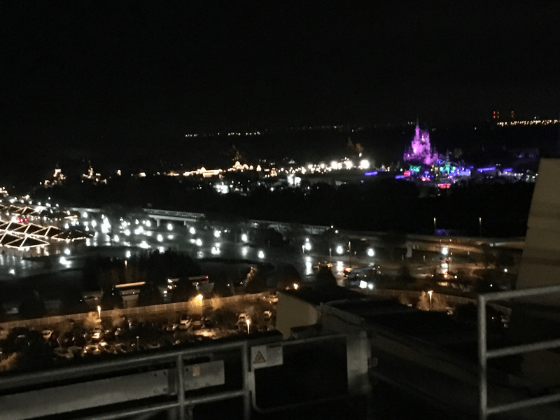 view of Magic Kingdom from California Grill