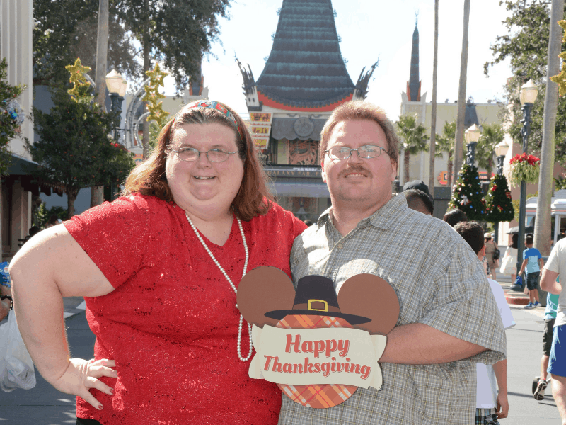Thanksgiving at Disney World
