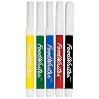 Wilton FoodWriter Color Fine-Tip Edible Markers, 5-Piece