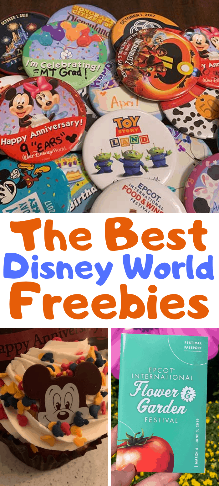 The Best Disney World Freebies