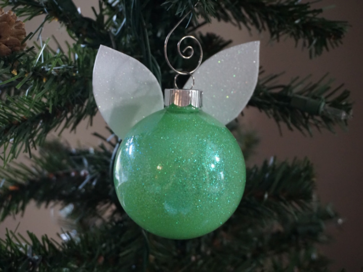 DIY Tinker Bell Ornament