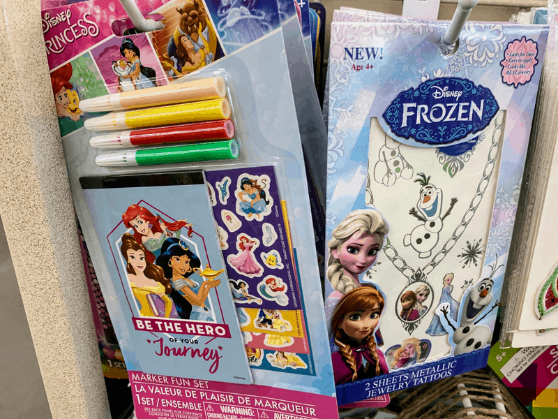 Disney Activity packs