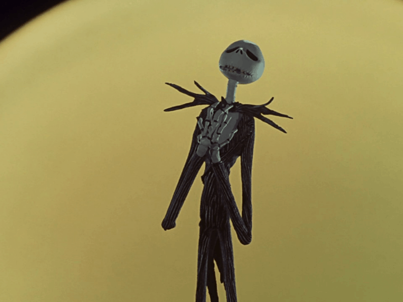 Jack Skellington during his lament