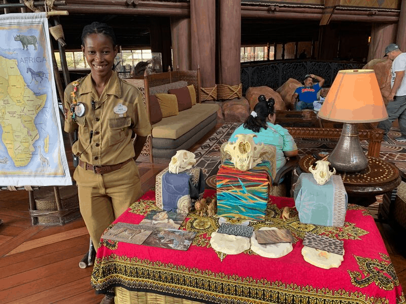 Free Matching Game at Animal Kingdom Lodge