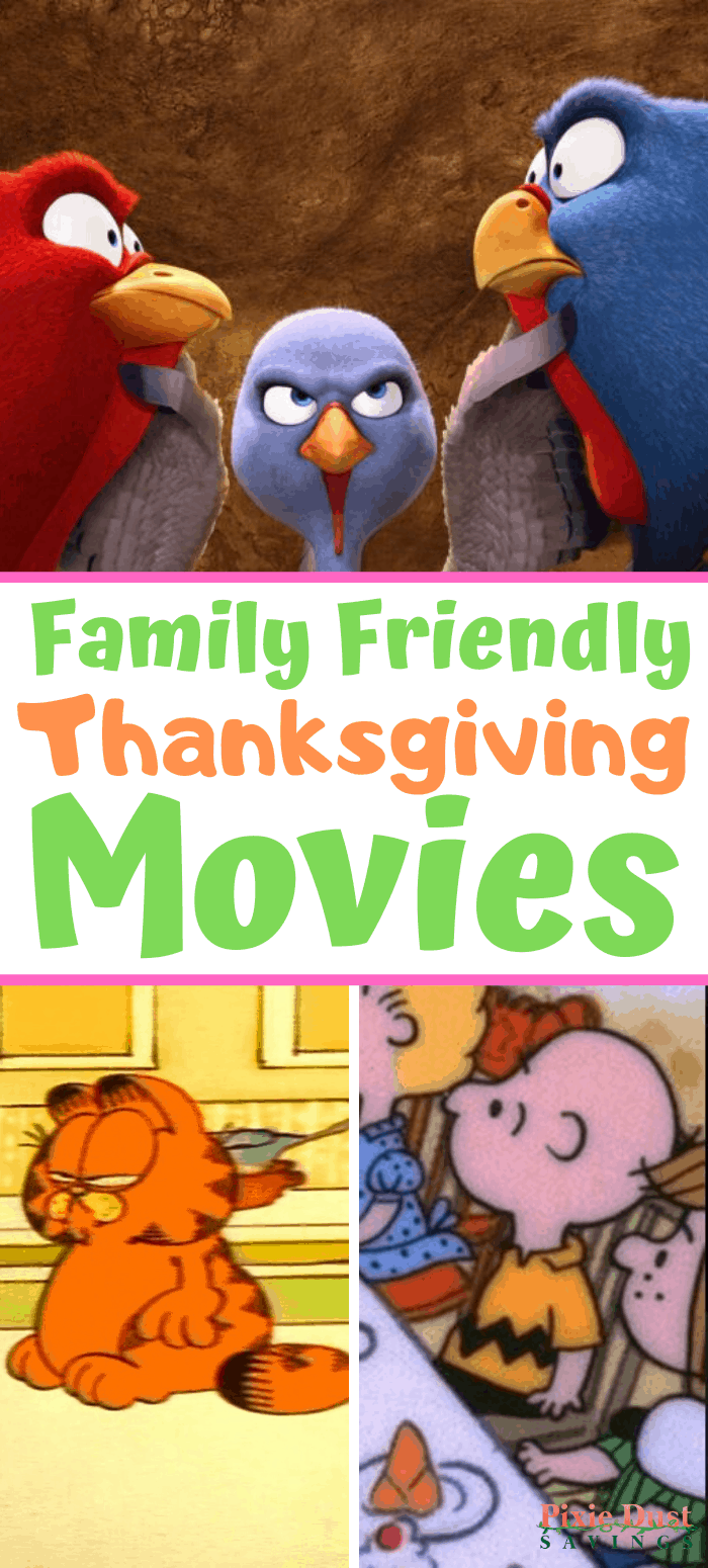family Friendly Thanksgiving movies