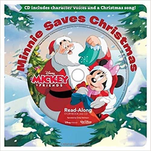 Minnie Saves Christmas Read-Along Storybook & CD (Read-Along Storybook and CD)
