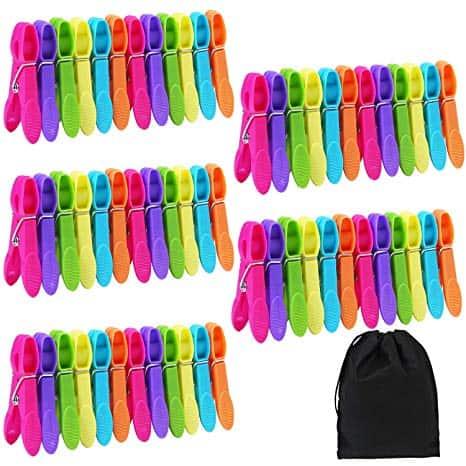 60 Pieces Clothes Pins