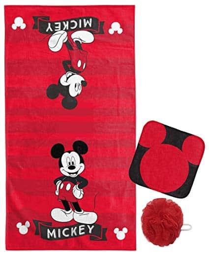 Jay Franco Disney Mickey Classic Kids Bath/Beach/Spa Bath/Wash Set