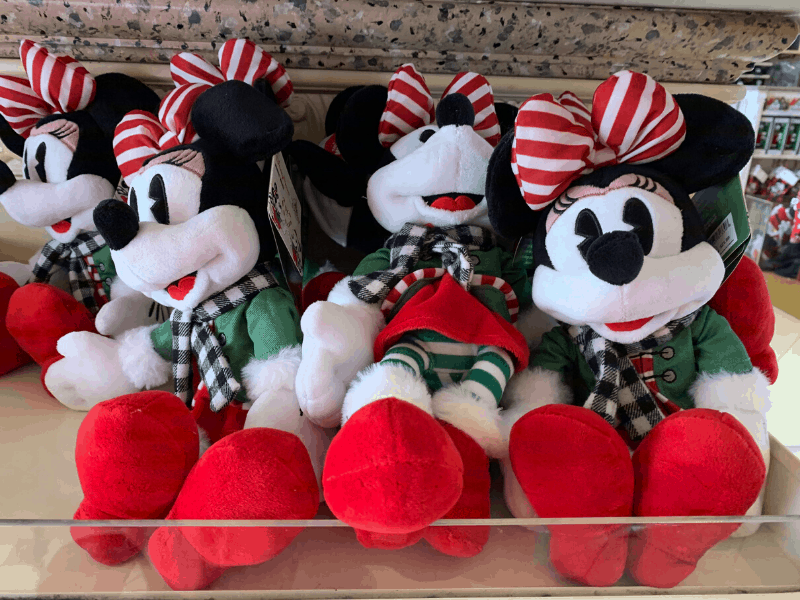 Christmas Minnie Mouse Plush