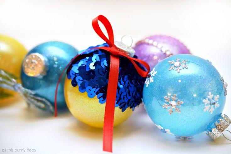 Disney Princess-Inspired Christmas Ornaments