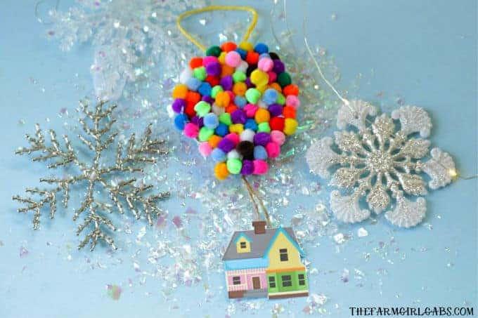 UP Disney Christmas Ornament