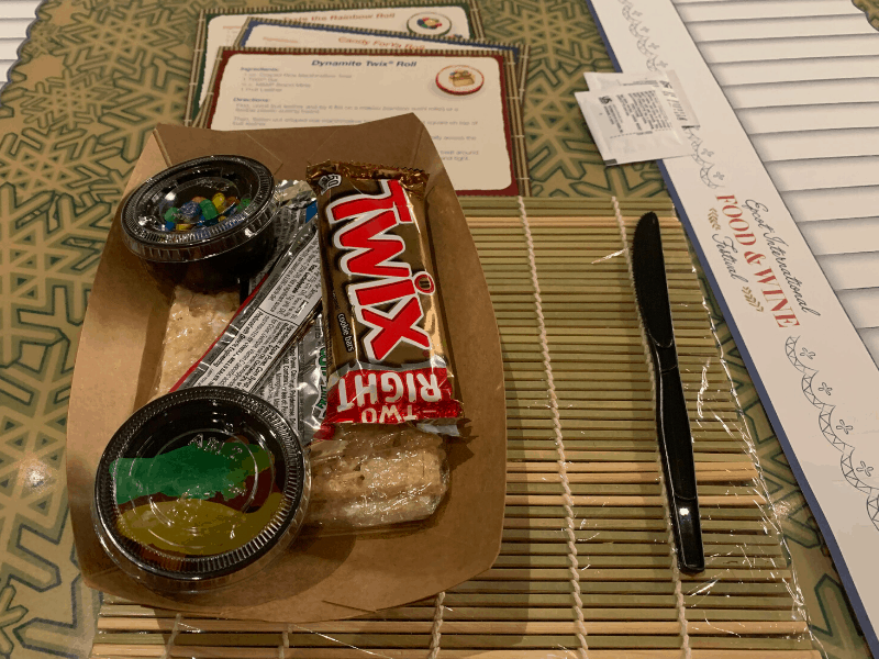 Candy Sushi supplies