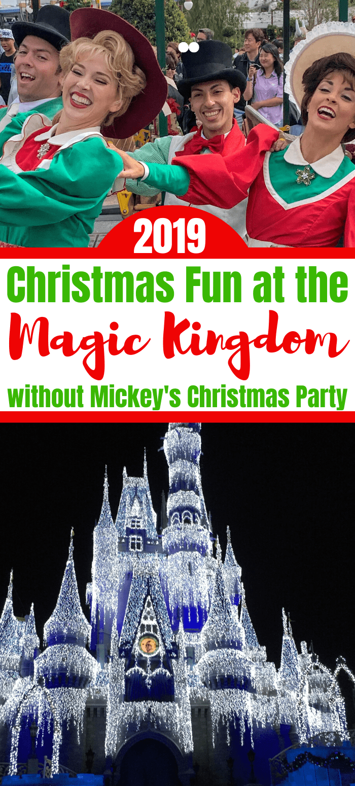 Christmas Activities at The Magic Kingdom