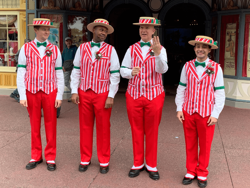 Dapper Dans at Christmas