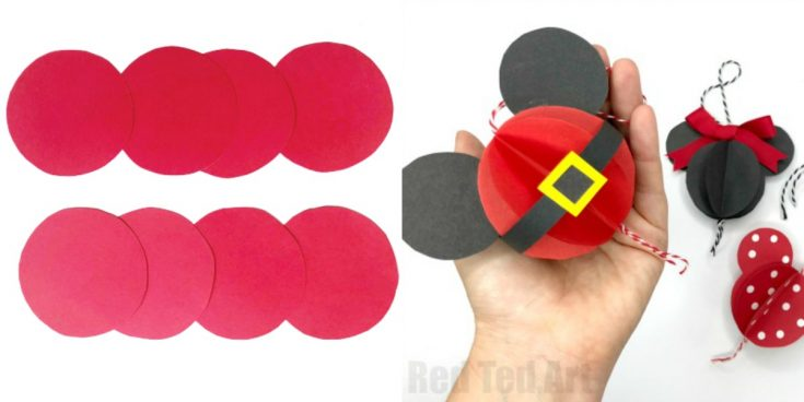From simple paper to MICKEY MOUSE