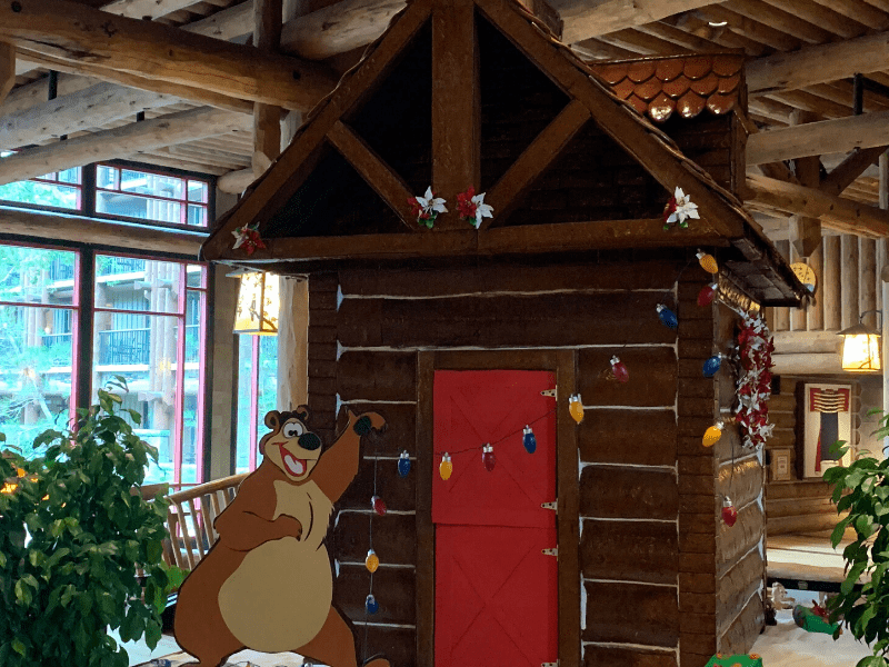 Wilderness Lodge Gingerbread House