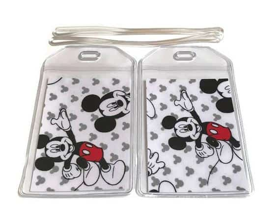 Luggage Tags Set of 2 Mickey Mouse