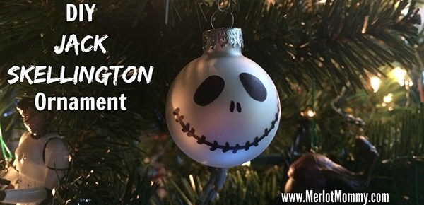 DIY Jack Skellington Ornaments