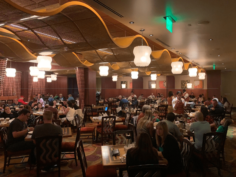 The Wave Restaurant inside